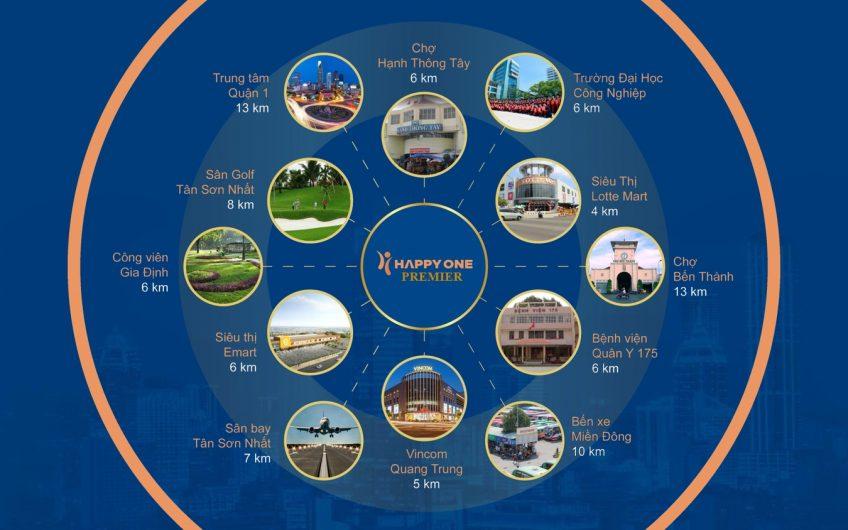 Căn hộ Smart Home Happy One Primier Trung tâm Tân Sơn Nhất