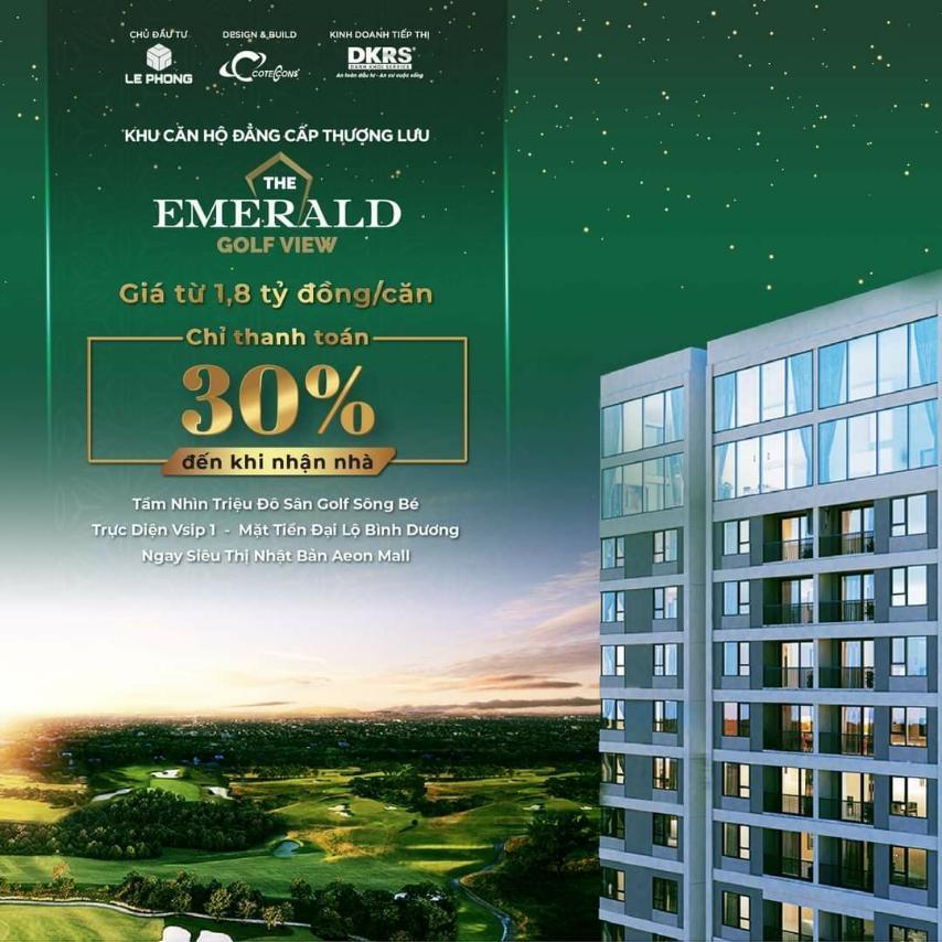 Dễ dàng đầu tư khi chỉ cần thanh toán 30% đến khi nhận căn hộ