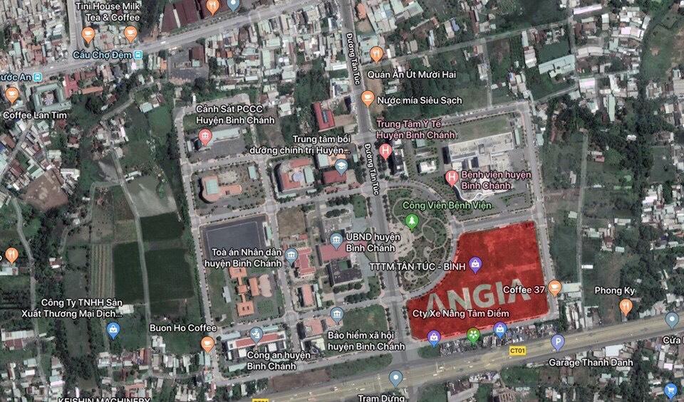 Vị trí lõi trung tâm hành chính quan trọng nhất của Tây Sài Gòn